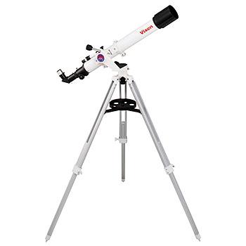 【ほぼP5倍 4/15-4/16 AM1:59迄】 ビクセン(Vixen) 天体望遠鏡ミニポルタ A70Lf ホワイト・ブラック 39941