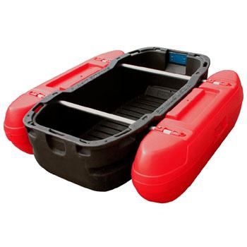 カーメイト(CAR MATE) フロートボート Z1DR ダークグレー/デビルレッド Z1DR 【大型商品】