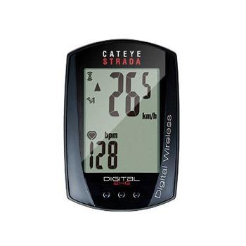 自転車アクセサリー キャットアイ 即納最大半額 CAT EYE デジタルワイヤレス 2020秋冬新作 CC-RD420DW ストラーダ