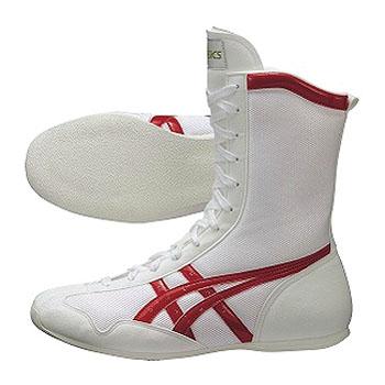 アシックス(asics) ボクシング MS 29.0cm 0123(ホワイト×レッド) TBX704