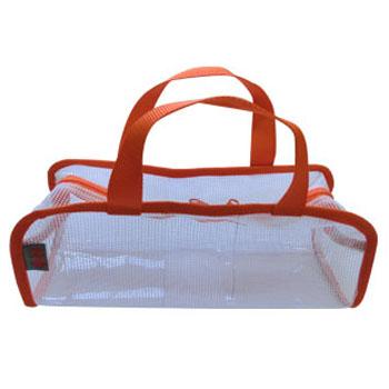 タックルバッグ エイチ・ワイ・エス 日吉屋(HYS) ウォッシュギアポーチ L ホワイト×オレンジ 950