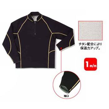 FIELDX-TREAMER FX-644 チタンジップアップジャケット LL ブラック FX-644