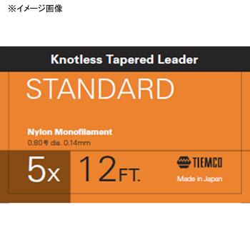国内正規品 フライライン ティムコ TIEMCO リーダースタンダード 6X 12フィート 最安値挑戦 ステルスグレー