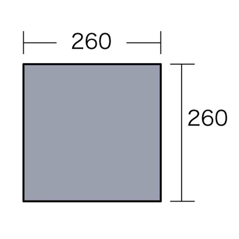 ogawa(小川キャンパル) PVCマルチシート 270×270用 シルバー 1405