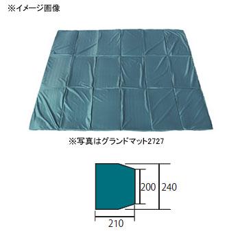ogawa(小川キャンパル) グランドマット アルマディ4用 ダークグリーン×ブラック 3885