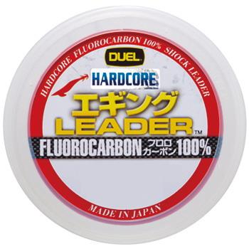 日時指定 ルアー釣り用ショックリーダー デュエル DUEL HARDCORE 発売モデル エギング LEADER 2号 ナチュラル 8lb 30m H3375