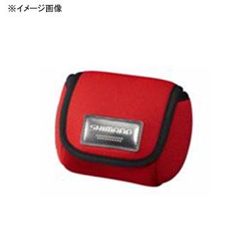 蔵 タックルバッグ 卸売り シマノ SHIMANO スプールガードシングル SPCー018L ブラック M ブラック PC-018L