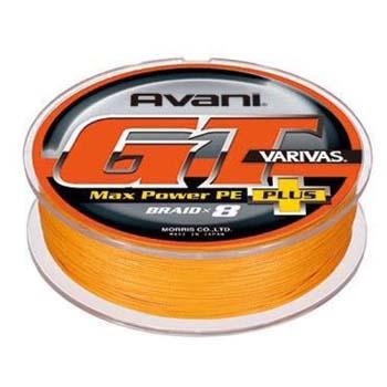 モーリス(MORRIS) バリバス アバニ GT マックスパワー プラス 400m 6号/85lb オレンジ