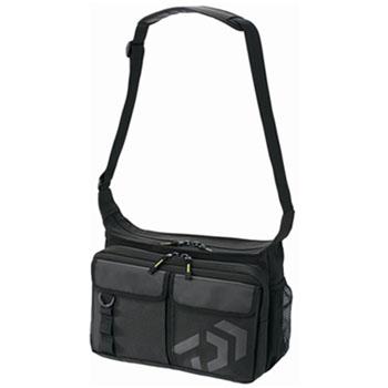 期間限定特価品 タックルバッグ ダイワ 買い物 Daiwa D ショルダーバッグ BK C 04714352 ブラック