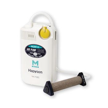 チヌ釣り・磯釣り・波止釣り ハピソン(Hapyson) 乾電池式エアーポンプミクロ YH-735C