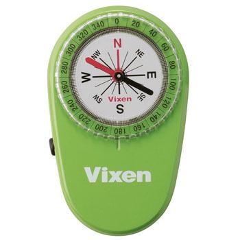 計測機器 ナビゲーション ビクセン Vixen LEDコンパス ライト付き 方位磁針 登山 オリエンテーション グリーン ハイキング 43023 ショッピング 星空観察 今だけ限定15%OFFクーポン発行中