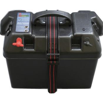 bmojapan(ビーエムオージャパン) バッテリーBOX インジケーター付(USB対応)60Aヒューズ付 C11517-1