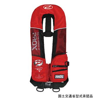 プロックス(PROX) PX030AR 自動膨脹式ライフベスト検定品 大人用/フリー PROXロゴ(レッド) PX030AR, LED東宏:032c4d36 --- officewill.xsrv.jp