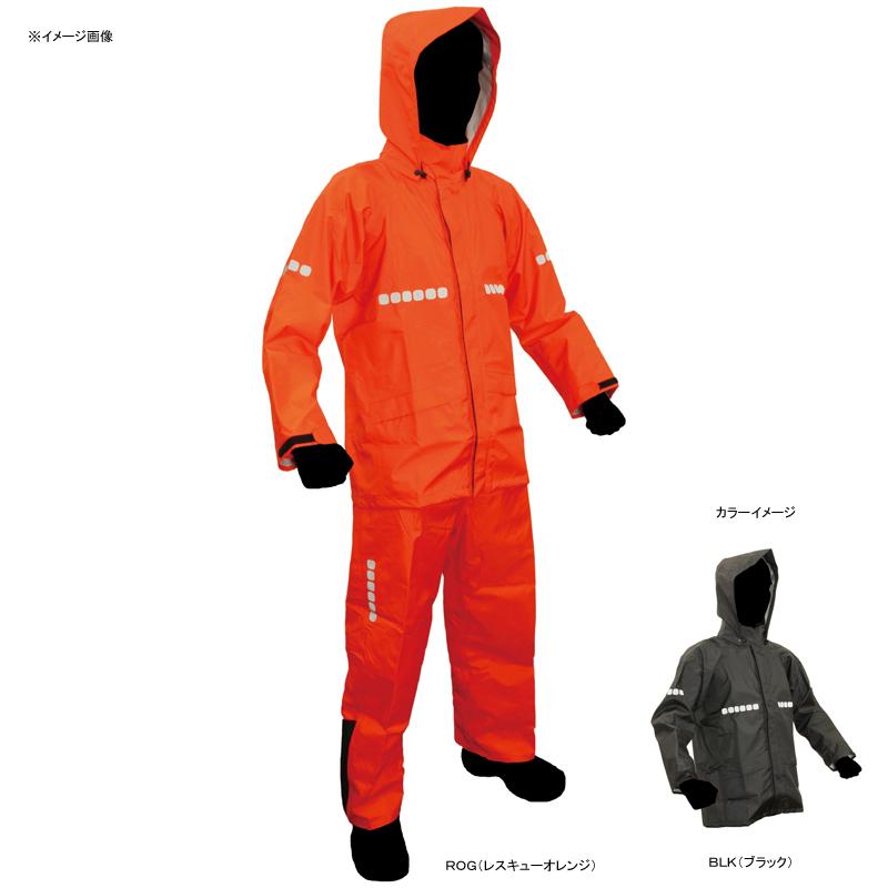 APT RAIN HI(アプトレインハイ) ワーキング レインスーツ L BLK(ブラック) AP-1000