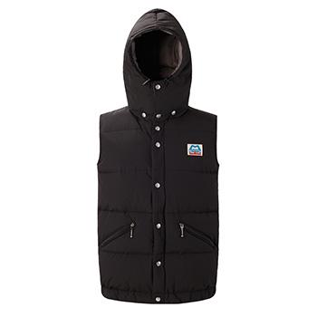 【P10倍☆3店舗買い回りで!4/9~】 マウンテンイクイップメント(Mountain Equipment) Retro Lightline Vest(レトロライトラインベスト) L ブラック 421358