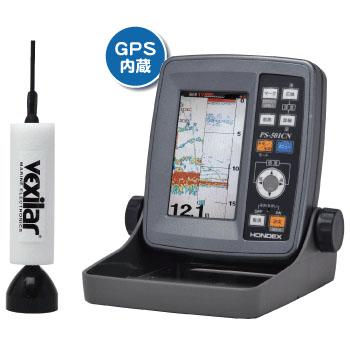 HONDEX(ホンデックス) PS-501CN TD07 ワカサギパック(GPS内蔵)