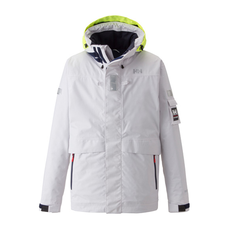 HELLY HANSEN(ヘリーハンセン) HH11550 Ocean Frey Jacket(オーシャン フレイ ジャケット) Men's L W(ホワイト) HH11550
