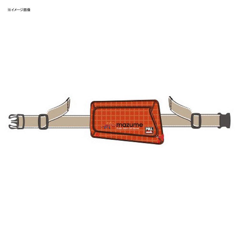 MAZUME(マズメ) インフレータブルポーチ フリー レッド MZLJ-264-02