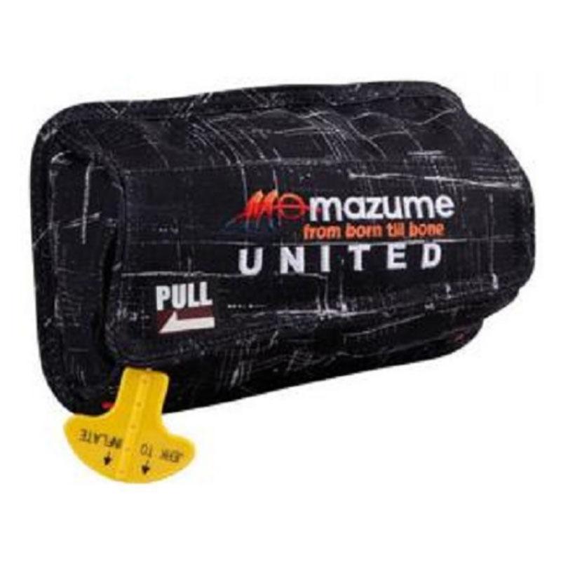 MAZUME(マズメ) インフレータブル ポーチ カモ(ウエストバッグIII装着用) フリー ブラックカスリ MZLJ-255-02
