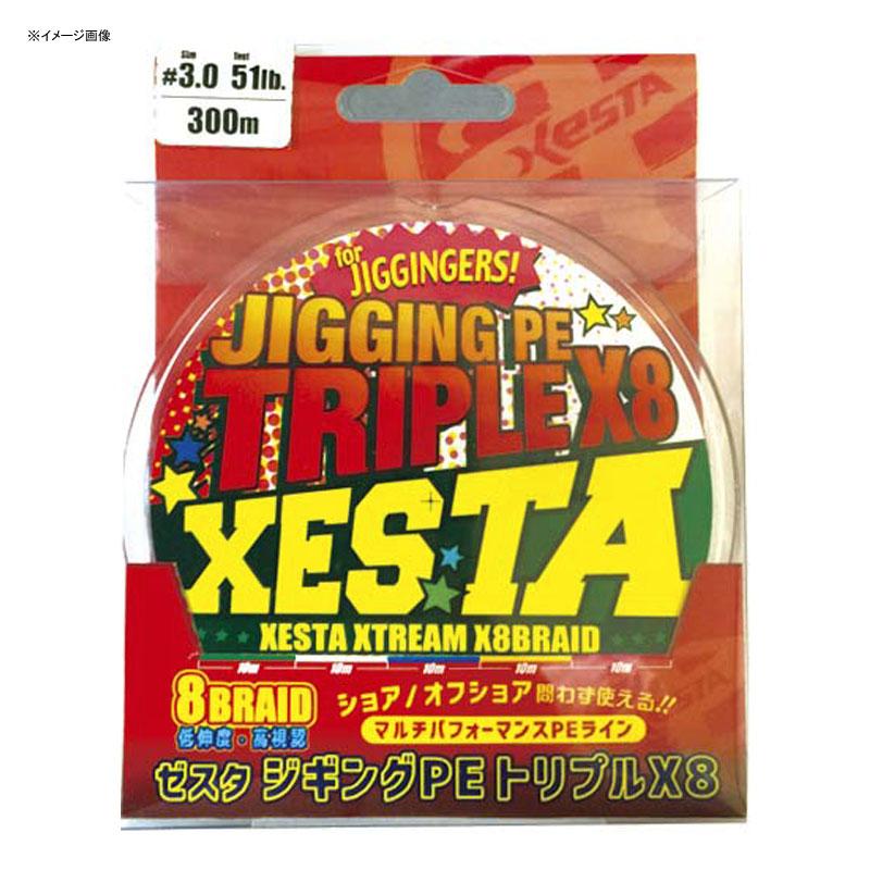 ゼスタ(XeSTA) ジギングPE トリプルX8 300m 0.8号/14lb