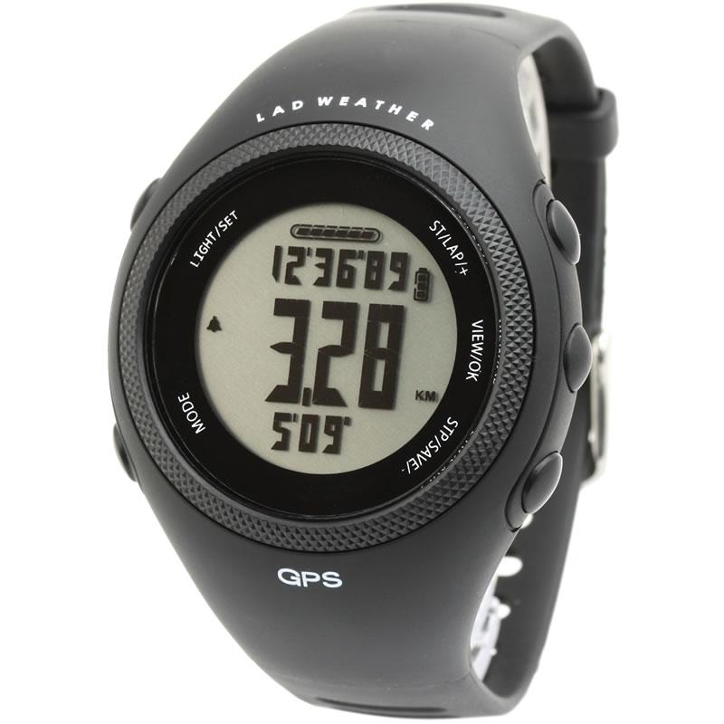 LAD WEATHER(ラドウェザー) GPS MASTER II ブラック×通常液晶 lad016bk
