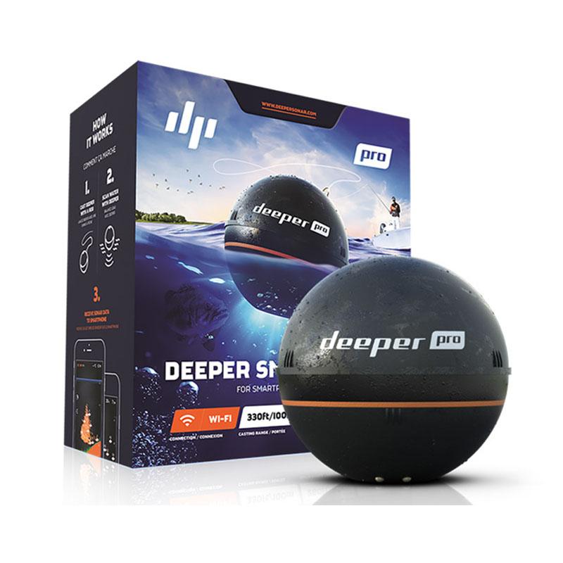 格安SALEスタート! ディーパー プロ) Deeper Pro(ディーパー ディーパー プロ) Pro(ディーパー ワイヤレススマート 魚群探知機, イタリ屋:aa6396f1 --- eagrafica.com.br