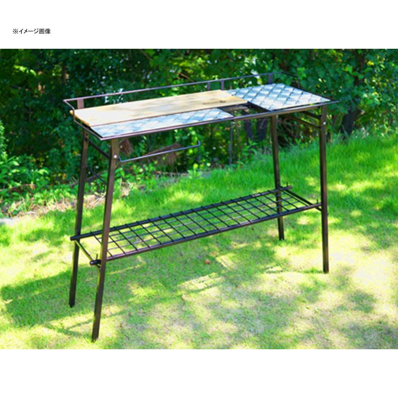ネイチャートーンズ(NATURE TONES) The Kitchen Counter Table+オプションセット ダークブラウン KCT-DB+OP