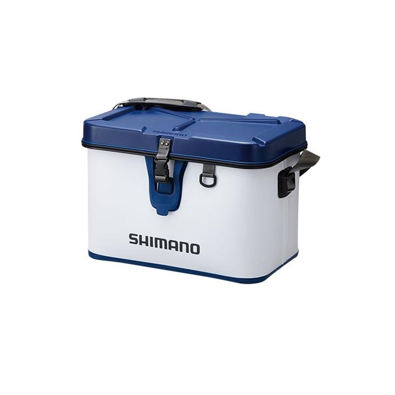 シマノ(SHIMANO) BK-001Q タックルボートバッグ(ハードタイプ) 32L ホワイト 48090