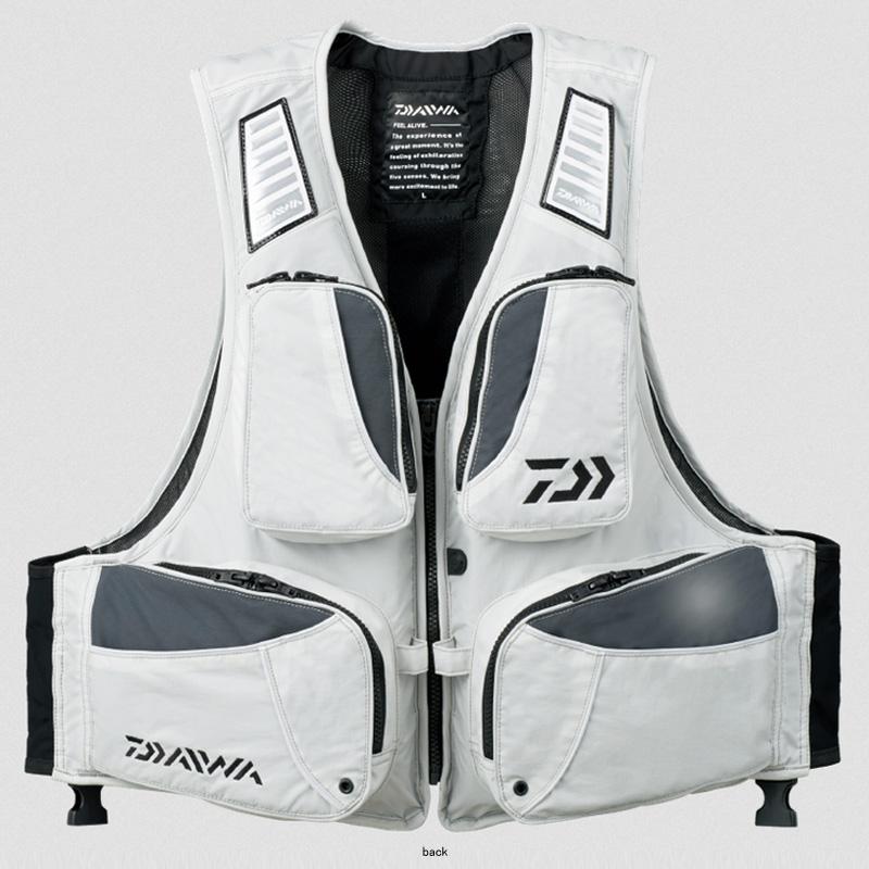 ダイワ(Daiwa) DF-6307 ライトフロートベスト 2XL ミスト 04535653