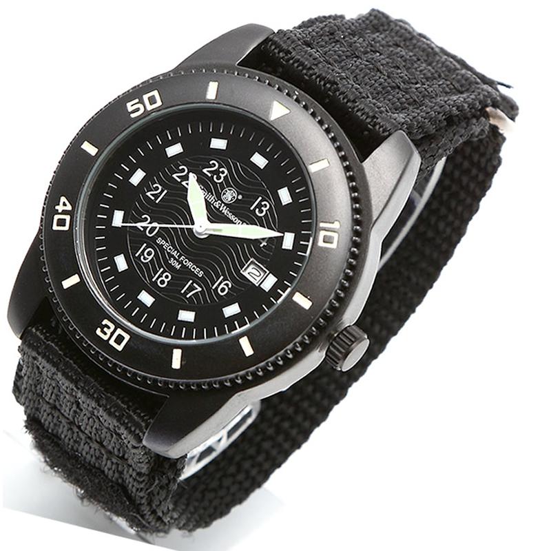 Smith&Wesson(スミス&ウェッソン) COMMANDO WATCH BLACK(コマンドー ウォッチ) ブラック sww-5982