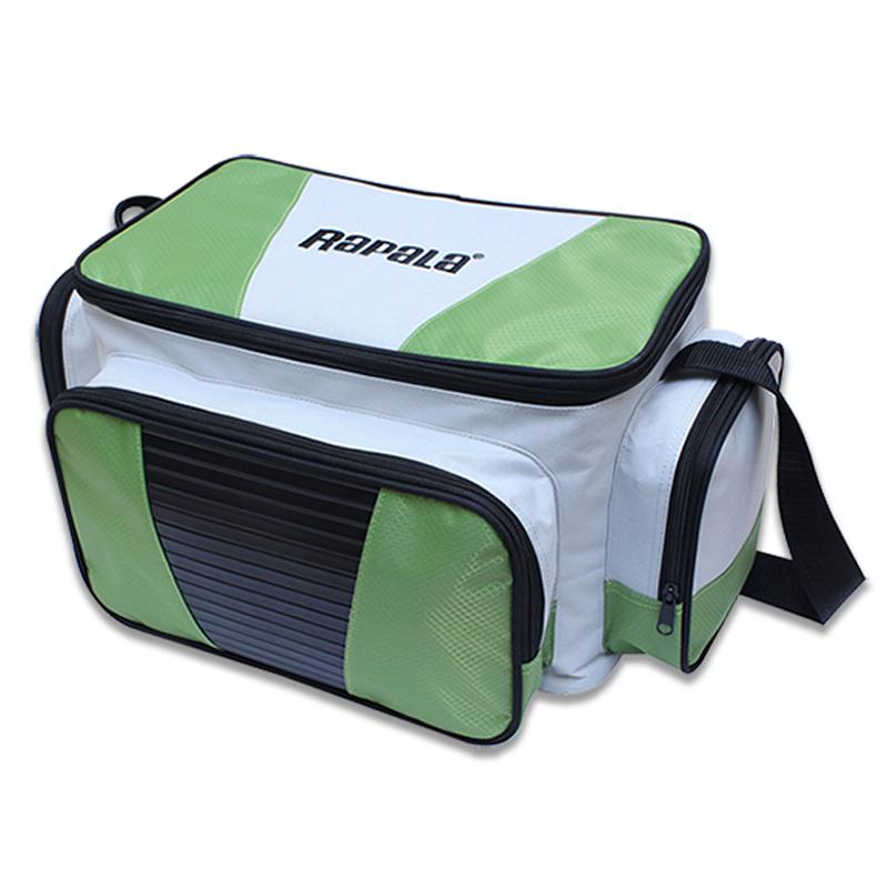 Rapala(ラパラ) ラージ タックル バッグ グリーン×ライトグレー 40006-1