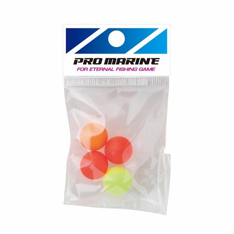 渓流仕掛け 淡水仕掛け プロマリン PRO MARINE 蛍光発泡玉 AGV123 海外 卸売り 6号