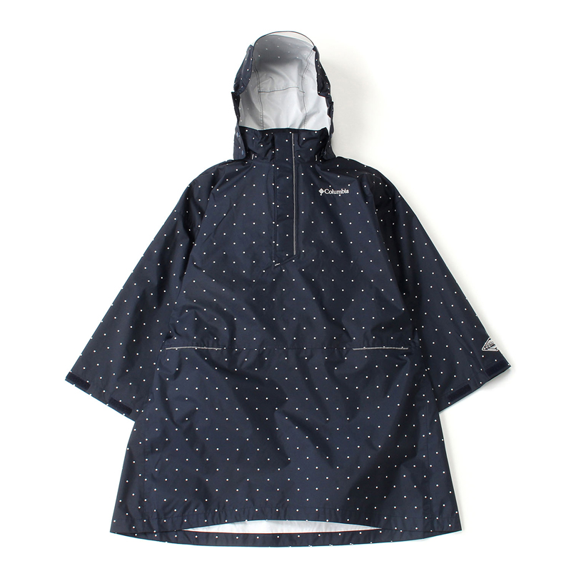Spey Pines Youth Poncho Kid's XS 425(Columbia Navy Dot)