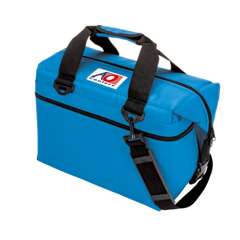 AO Coolers(エーオー クーラーズ) 24 パック キャンパス ソフトクーラー 22.7L ブルー AO24RB