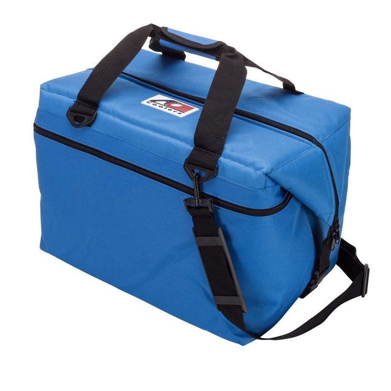 AO Coolers(エーオー クーラーズ) 48 パック キャンパス ソフトクーラー 45.4L ブルー AO48RB