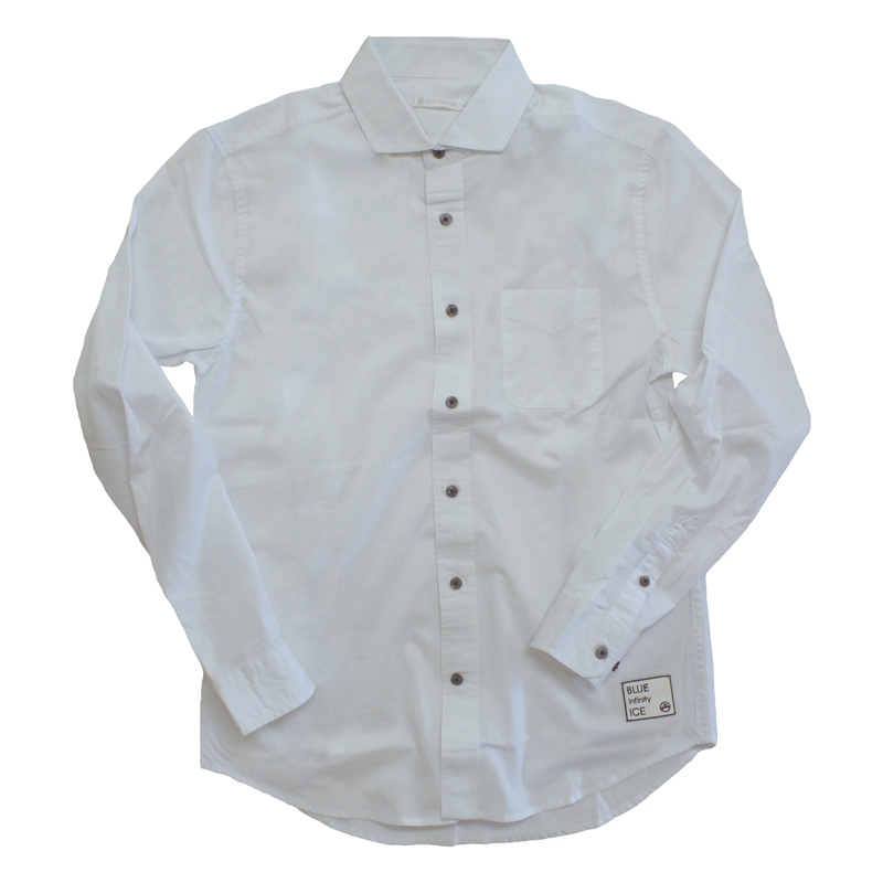 LONG SLEEVE SHIRTS M 100(WHITE)