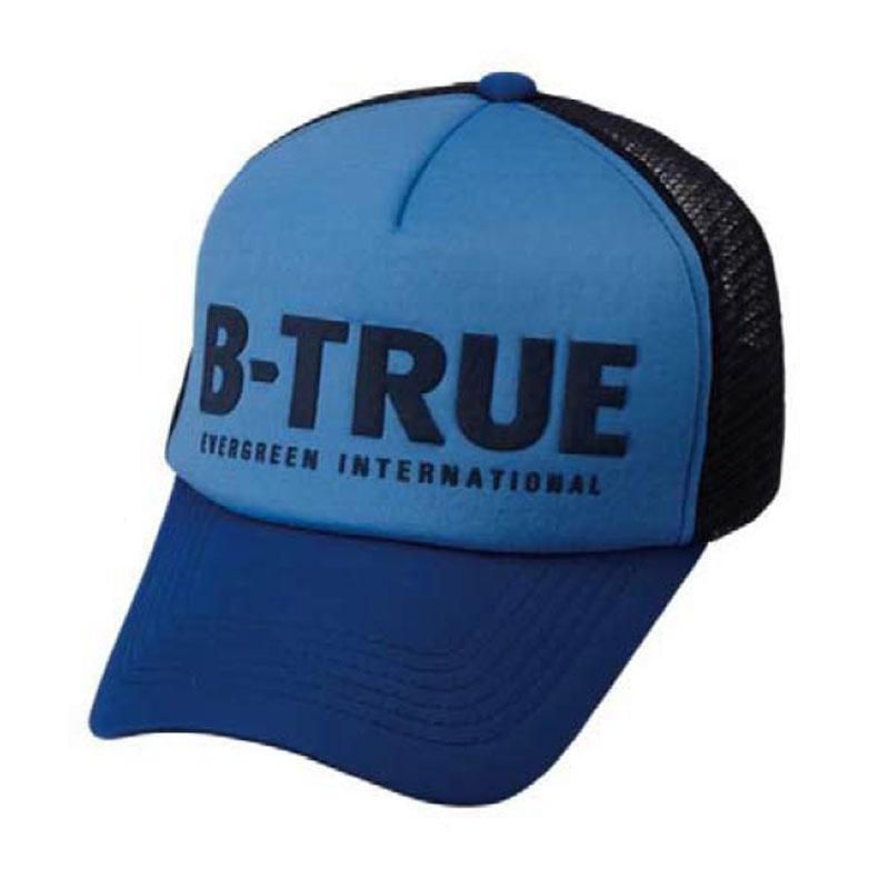 【楽天市場】エバーグリーン(EVERGREEN) B-TRUE ベーシックメッシュキャップ ブルー×ネイビー:ナチュラム 楽天市場支店