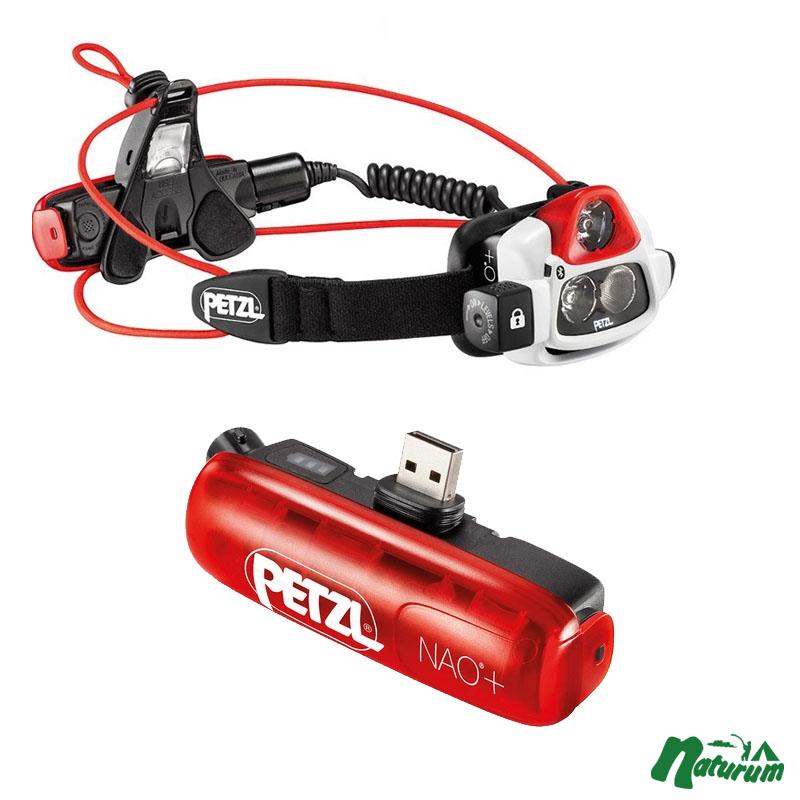 PETZL(ペツル) NAO+(ナオプラス)充電式 最大750ルーメン+専用バッテリー【お得な2点セット】 E36AHR 2B, 首輪とキーホルダーのパーツのお店 e82d8779