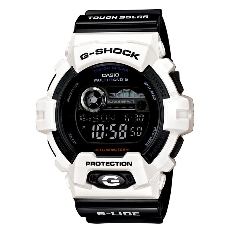 G-SHOCK(ジーショック) 【国内正規品】GWX-8900B-7JF 55.1×52.5 ホワイト×ブラック GWX-8900B-7JF