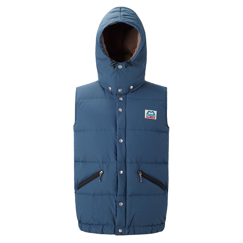 マウンテンイクイップメント(Mountain Equipment) Retro Lightline Vest(レトロライトラインベスト) L ネイビー 421358