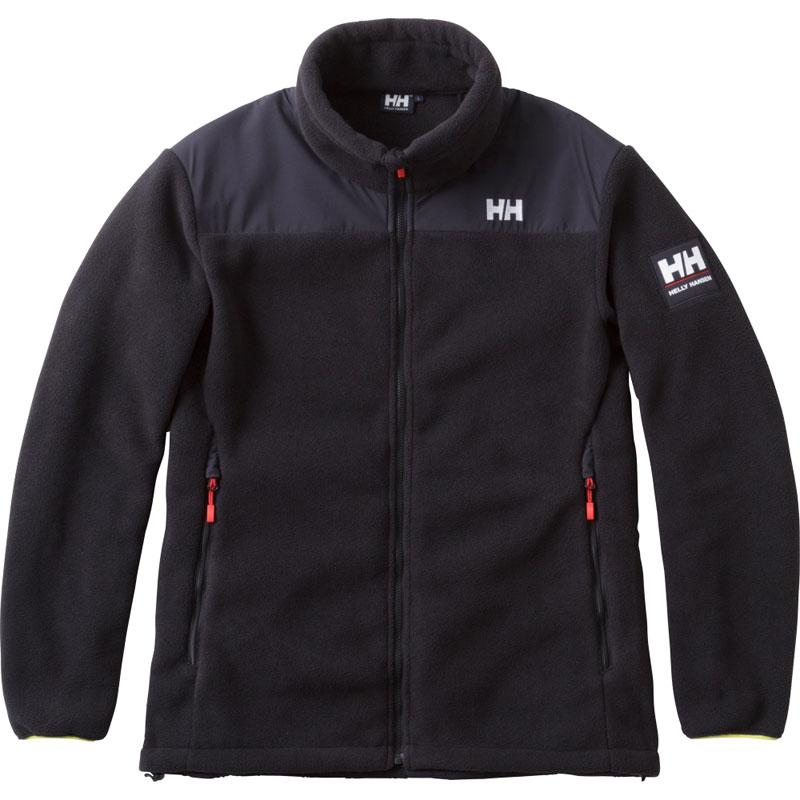 HELLY HANSEN(ヘリーハンセン) HH51750 Hydro Midlayer Jacket(ハイドロ ミッドレイヤー ジャケット) XL K(ブラック) HH51750