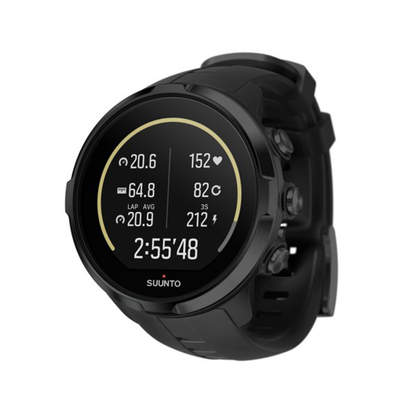 SUUNTO(スント) 【国内正規品】SPARTAN SPORT WRIST HR ALL BLACK BLACK SS022662000