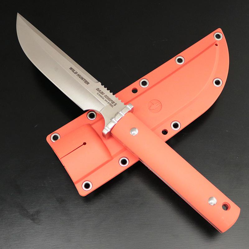 G・サカイ サビナイフ 5 ワイルドハンター 刃長(137mm) オレンジ 11436