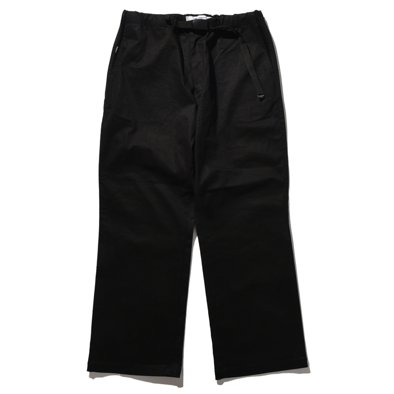 BELLWOODMADE(ベルウッドメイド) AWESOME PANTS WIDE CHINOS L BLACK BWAPW01L2408