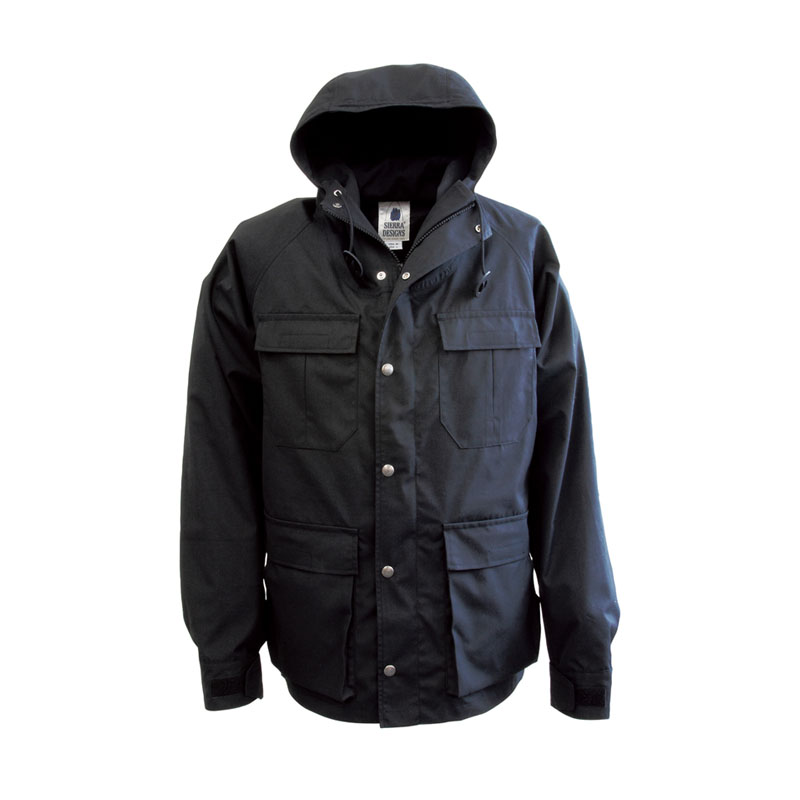 SIERRA DESIGNS(シエラデザインズ) MOUNTAIN TRAIL PARKA S Black×Black 6501