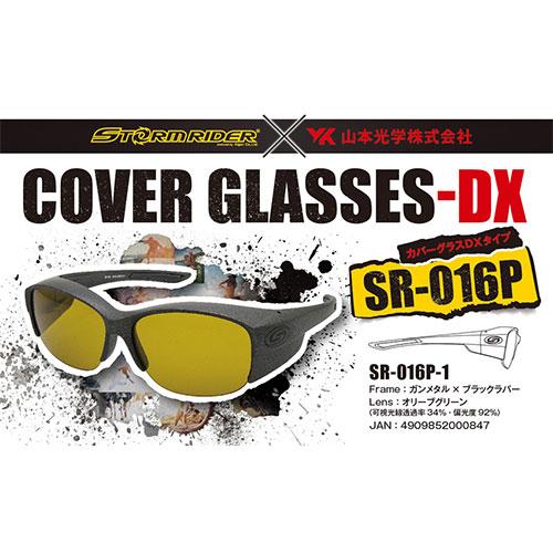 ストームライダー(STORM RIDER) SR-016-P COVER GLASSES-DX ガンメタル オリーブグリーン
