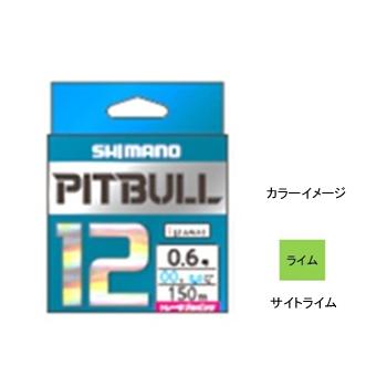 シマノ(SHIMANO) PL-M52R PITBULL(ピットブル)12 150m 1号 サイトライム 57249