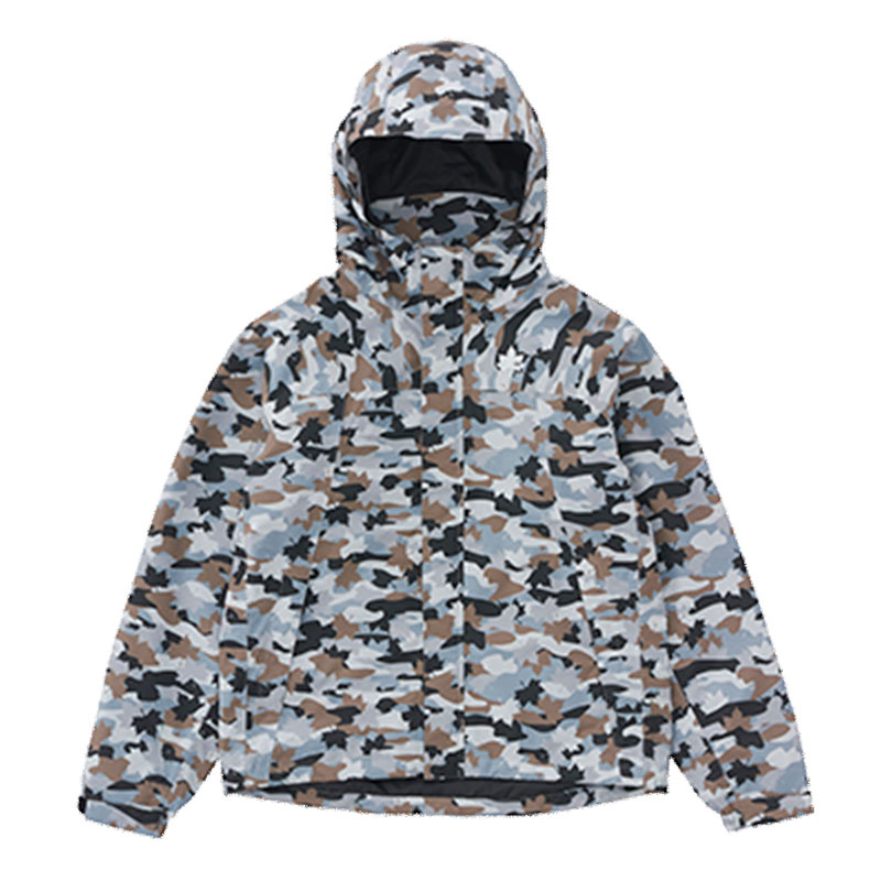 ロゴス(LOGOS) ベネットカモ レインジャケット Men's M カモフラ 36701833