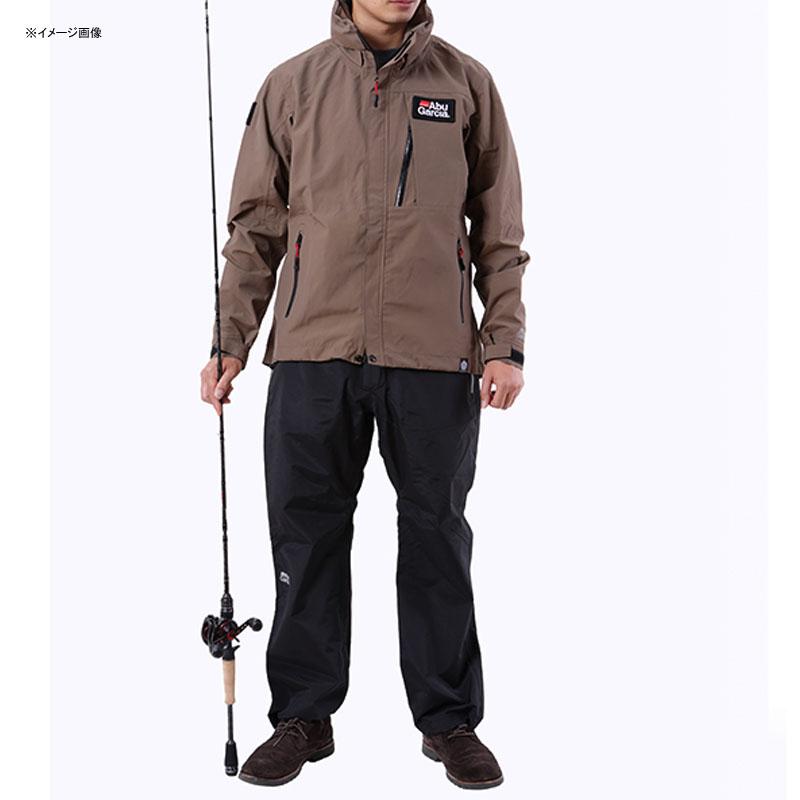 アブガルシア(Abu Garcia) スタンダードレインスーツ S カーキジャケット×ブラックパンツ 1479690