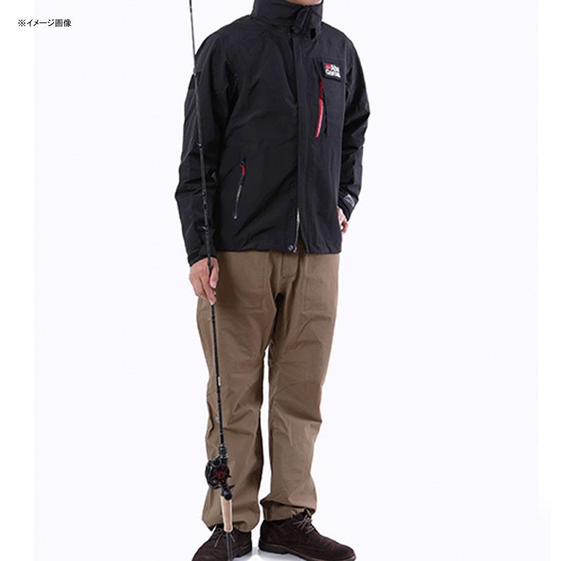 アブガルシア(Abu Garcia) スタンダードレインスーツ XL ブラックジャケット×カーキパンツ 1479697